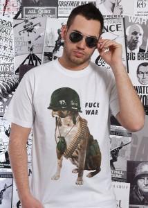 Fuck War Tee - Carrot Clothing