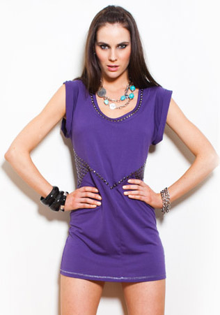 Safari Nights Studded Dress