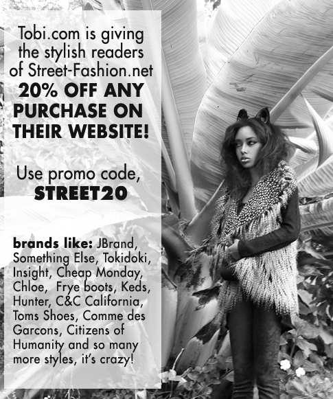 Tobi.com and Street-Fashion.net Promo!