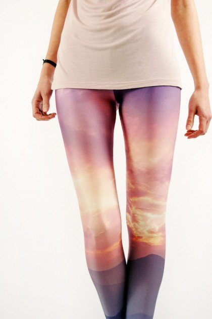 Laotian Sunset Leggings by Lovely Sally