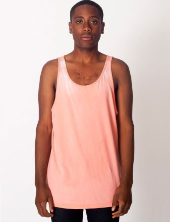 Thermochromatic tank in coral