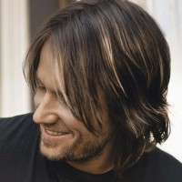Shoulder Length Hair for Men